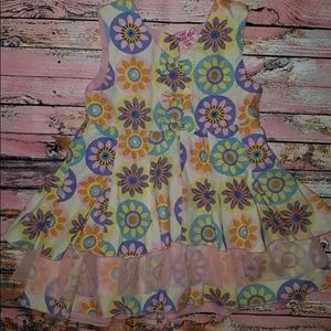 """Baby Beetle Floral Tulle Dress """"EUC"""""""